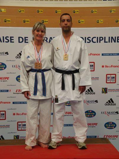 Cathy Arnault et Kamel Benmiloudi