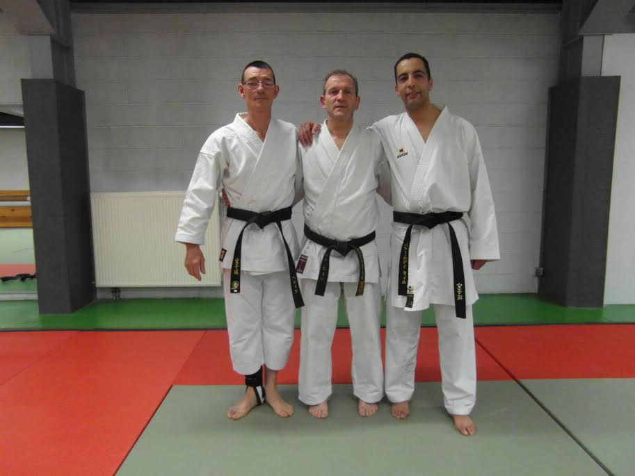 Philippe Herment, Luc Pithon et kamel Benmiloudi
