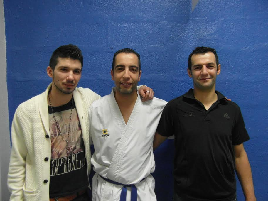 Fred Vatinel, Kamel Benmiloudi et Rabah Rafa