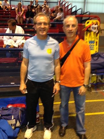les coachs Denis et Luc